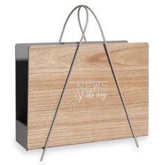 porte revue porte revues magazine en bois nature porte revue pinterest porte revue porte. Black Bedroom Furniture Sets. Home Design Ideas
