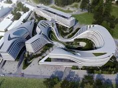 The other kind of future is immensely complex, but still includes elegant forms.