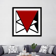 Discover «Four Triangles», Exclusive Edition Fine Art Print by Andy Young via @Curioos