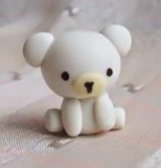 Air Dry Clay Tutorials: Make This Tiny Polar Bear Charm