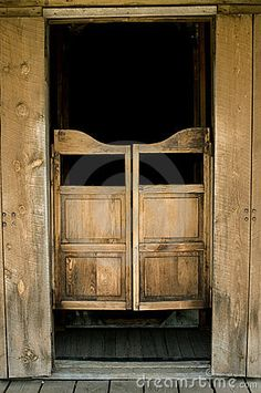 Saloon Doors <3  Somewhere in our dream home, maybe the closet of the baby room that will be a littte cowboy room, or den/man cave entrance