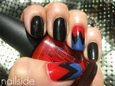 Bolt nail art