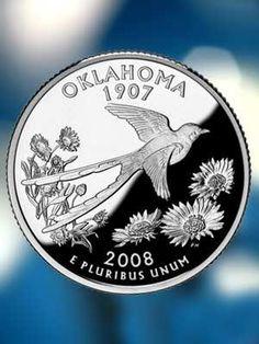 Oklahoma Quarter - I never spend my Oklahoma quarters that I receive.