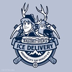 Kristoff and Sven's Ice Delivery