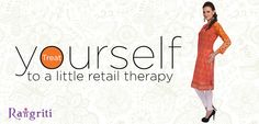 Treat yourself to a little retail therapy!