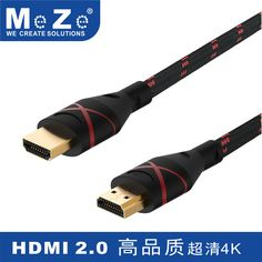 New HDMI Cable, 6ft Nylon Braided Extremely Durable High-Speed HDMI HDTV Cable, Supports Ethernet