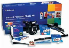 Polaroid Instant Passport Photo Kit includes M403R: Amazon.co.uk: Electronics