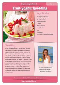 Fruit-yoghurtpudding