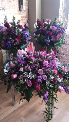 Blooms Florist, Deep Purple, Funeral, Photo And Video, Plants, Instagram, Plant, Planets
