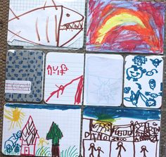 Project Life: Kid's Art Page