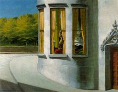 Edward Hopper - August in the City, 1945