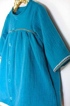 da2c904815e52 Pochette patron de couture ANTWERPEN Robe ample Bébé Fille 6-24mois