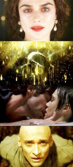 The Fountain, 2006 (dr. Darren Aronofsky) By atmovies The Fountain Movie, Hugh Michael Jackman, Hugh Jackman, Illuminati, Cinema Colours, Darren Aronofsky, Australian Actors, Love Film, Marvel