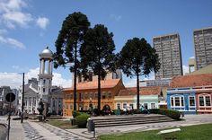 Curitiba, Paraná, Brasil - Praça Garibaldi