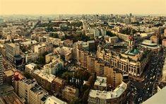 Scarica sfondi kiev, ucraina, panorama, strada