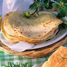 Mexikanische Weizen-Tortillas Rezept   Küchengötter (Mexican Bread Recipes)