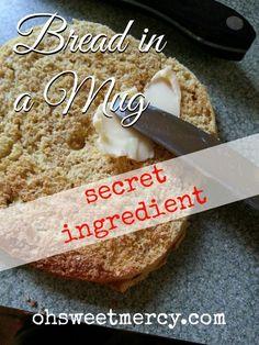 BIM - Secret Ingredient Bread in a Mug
