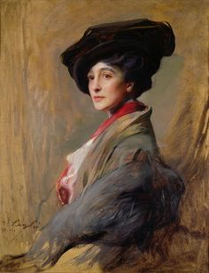 Mrs David Beatty, later the Countess Beatty by Philip Alexius de Laszlo