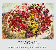 Jardins de St.Paul, 1973 - Marc Chagall