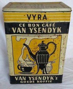 Café Vintage, Vintage Coffee, Rangement Art, Art Populaire, Coffee Tin, Coffee Packaging, General Store, Cocoa, Van