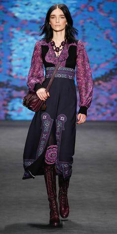 Anna Sui New York Fashion Week Fall Winter 2015 Ready-To-Wear