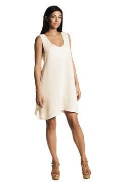 Elih Tunic / Mini Dress -Jute & Modal - Solne Eco Department Store