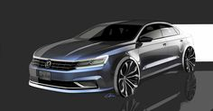 passat 2016 sketch - Google 검색