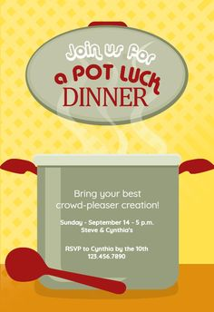 invite to taco potluck party invitations ideas.html