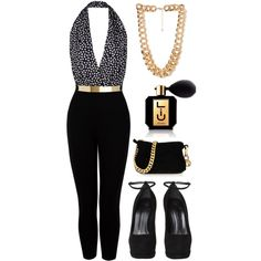 A fashion look from December 2012 featuring Paul & Joe jumpsuits, Giuseppe Zanotti pumps and Giuseppe Zanotti clutches. Browse and shop related looks.