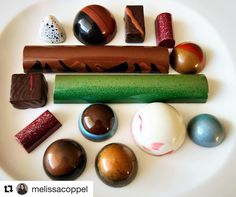 #Repost @melissacoppel (@get_repost) @bakelikeapro  Chocolate Bonbons and Dessert Bars from my last Intensive Chocolate Workshop | My last Class os the year will be November 6-9 / 2017 To get more information email me at melissa@melissacoppel.com