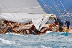 Huge fleet of classic yachts in the bay of #Cannes. The bay of Cannes, from the Lerins Islands to la Napoule, has again vibrated to the rhythm of Régates Royales – Trophée Panerai who celebrate their 34 year of history. This is one of the oldest races since the first edition took place in 1929 in honor of King Christian X of Denmark.