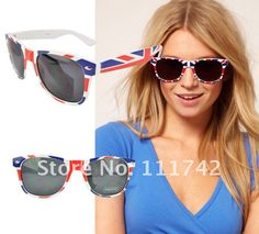 f8602e892cb ... 12pieces dozen fashion ladies sun glasses of union flags SEP012-in  Sunglasses from Women s Clothing   Accessories on Aliexpress.com