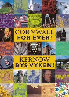 'CORNWALL FOR EVER! KERNOW BYS VYKEN!' (2000) | 'Discover the inventions, adventures and characters behind our Cornish story. Explore the past. Shape the future. Published and handed to every school child in Cornwall during the year 2000.'     ✫ღ⊰n