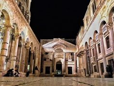 Diocletian Palace. Split. Croatia