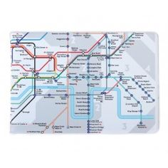 London Tube Map Travel Card Wallet