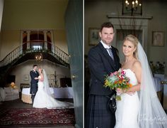 Castle wedding photography - Wedderburn Castle - Imagine Images