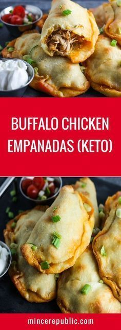 Buffalo Chicken Empandas Recipe (Keto) | #keto #lowcarb #gameday | mincerepublic.com Keto Meal, Keto Foods, Ketogenic Dinner Recipes, Keto Diet Meals, Keto Snacks, Paleo Dinner, Pescatarian Recipes, Diet Menu, Recipes Dinner