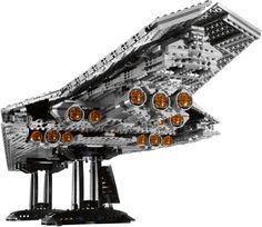 Lego Super Star Destroyer 10221 (Executor). Ultimate Star Wars Lego.