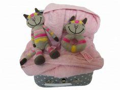 Kraamkado Kat | Koffertje gevuld! | Kadootjes voor baby, peuter, kleuter