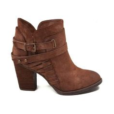 Accentuate your chic side with the new Whip Boot from Not Rated! Boasting an ankle boot silhouette, the Not Rated Whip Boot features soft, synthetic leather uppers with decorative buckle straps, side zipper for easy slip-on and off, complete with a trendy stacked heel for added lift.   <br><br><u>Features include</u>:<br> > Synthetic leather upper with soft textile lining<br> > Decorative buckle straps<br> > Side zipper for easy slip-on...