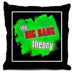 The Big Bang Theory Pillow.  CafePress has the best selection of custom t-shirts, personalized gifts, posters , art, mugs, and much more.
