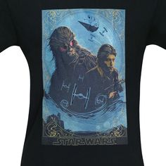 0a887e1eb1 Star Wars Solo Heroes of Corellia Men's T-Shirt-Close Up Star Wars Tshirt