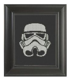 Pattern Cross Stitch Storm Trooper Star Wars by CrassCross, $5.00