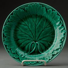 English Wedgwood Majolica Plate