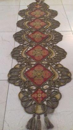 Point Lace, Macrame, Bohemian Rug, Cross Stitch, Rugs, Needlepoint, Lace, Embroidery, Twine