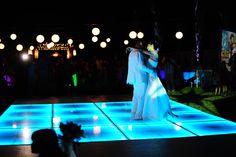 Wedding  Led dancefloor Wedding lights Outdoors Wedding México weddings Beach weddings