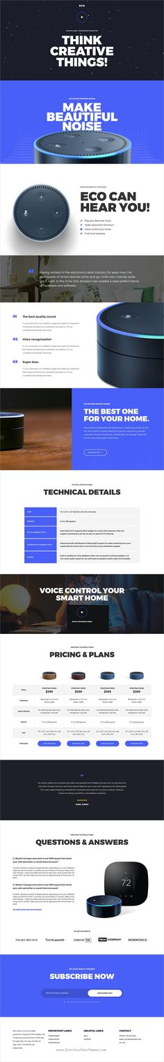 Eco is clean and modern design 6in1 responsive #WordPress theme for #product and #service landing #page website integrated with MailChimp and Contact Form 7 download now..
