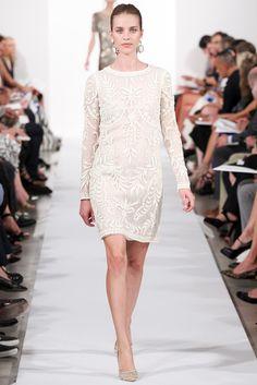 Oscar de la Renta Spring 2014 Ready-to-Wear Fashion Show - Julia Frauche