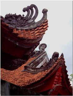 Temple of Litterature, Hanoi, Vietnam par Howard Somerville