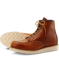 94ed9c761341 Red Wing 6 Inch Moc Toe Mens Boot - Footwear from CHO Fashion and Lifestyle  UK